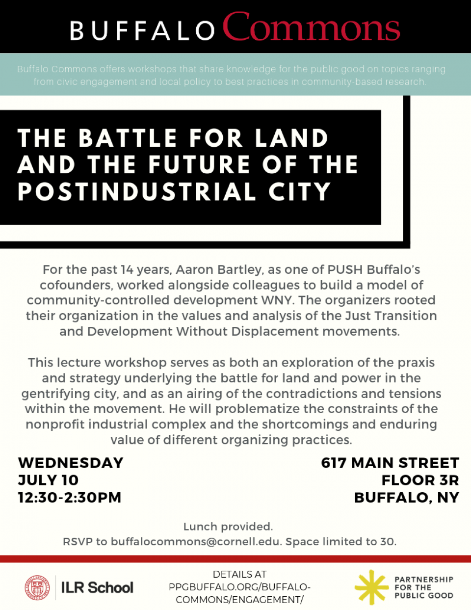 The Battle for Land and the Future of the Postindustrial City