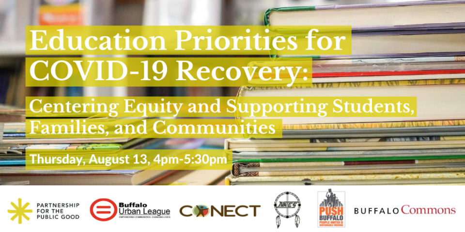 Education Priorities for COVID-19 Recovery: Centering Equity and Supporting Students, Families, and Communities