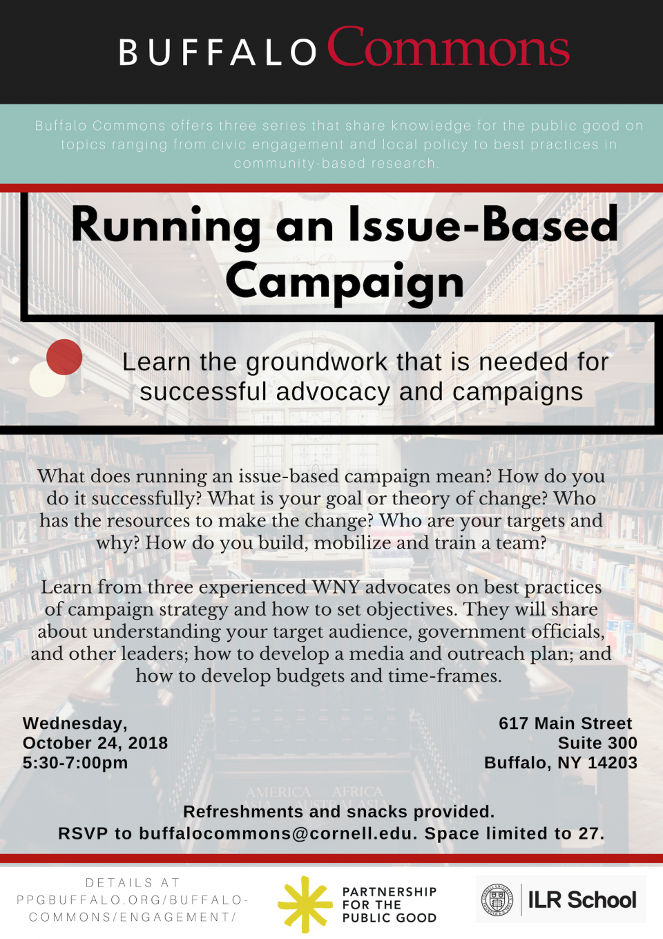 Running an Issue-Based Campaign