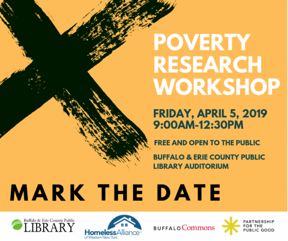Buffalo Poverty Research Workshop X