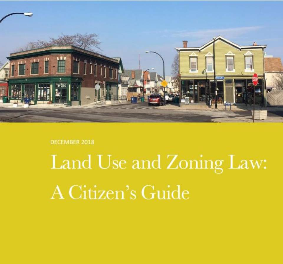 New PPG Handbook on Land Use and Zoning Law