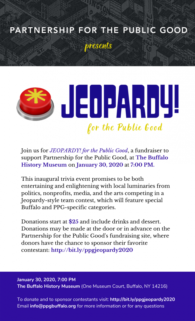 Jeopardy! For the Public Good